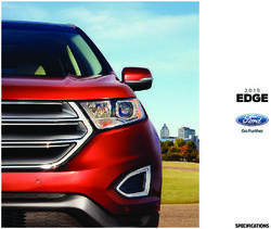 Ford Edge 2015 Specifications