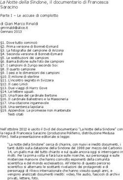 Sindone di Torino Carbon datazione 2008