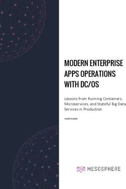 Modern Enterprise Apps Operations With DC/OS