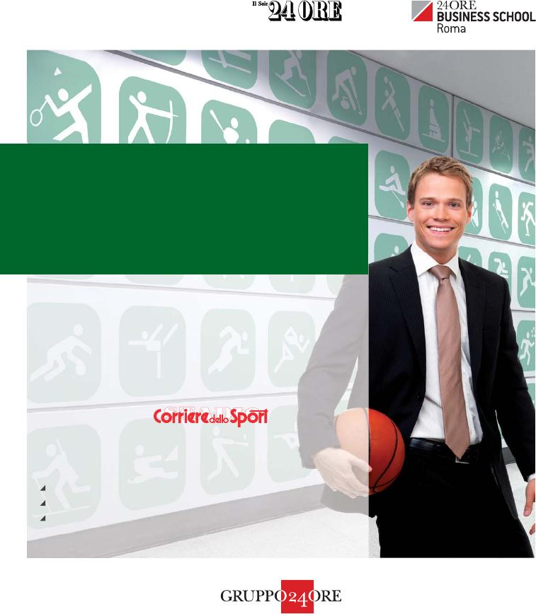 18047e6496 MANAGEMENT DELLO SPORT - 5 MASTER Marketing, comunicazione e gestione delle  imprese sportive