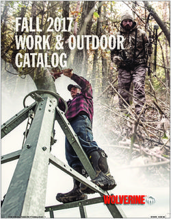 Fall 2017 Work & Outdoor Catalog
