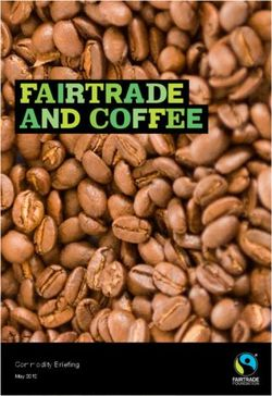 Fairtrade Foundation Brochure. Fairtrade and Coffee. Commodity Briefing May 2012.