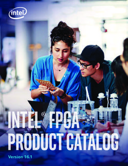 Intel FPGA Product Catalog