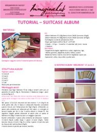 TUTORIAL - SUITCASE ALBUM - MATERIALI