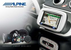 Alpine Driving Mobile Media Innovations. Product Lineup 2016 - 2017.