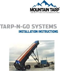 TARP-N-GO SYSTEMS - INSTALLATION INSTRUCTIONS