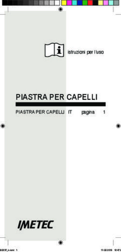 Il CAPELLO - Il ciclo del capello e4fed2ff6f15