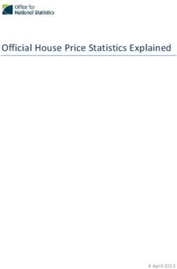 Official House Price Statistics Explained