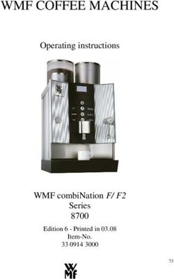 WMF COFFEE MACHINES Operating instructions