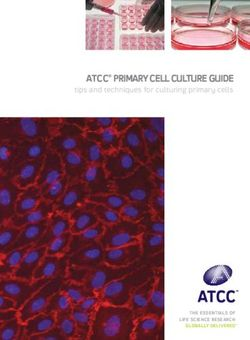 ATCC PRIMARY CELL CULTURE GUIDE - TIPS AND TECHNIQUES FOR CULTURING PRIMARY CELLS
