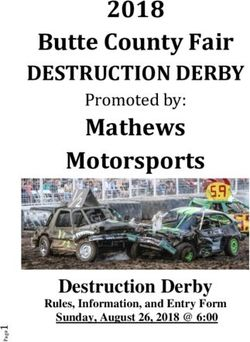 2018 Butte County Fair - DESTRUCTION DERBY