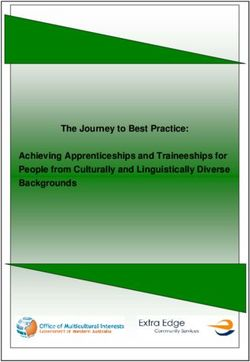 The Journey to Best Practice: Achieving Apprenticeships and Traineeships for People from Culturally and Linguistically Diverse Backgrounds