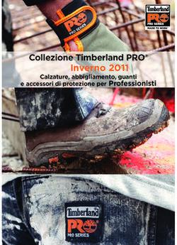 Inverno 2011 Collezione Timberland PRO