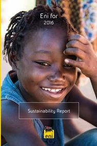 Eni for 2016 - Sustainability Report - Assomineraria