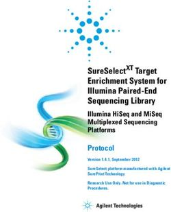 Enrichment System for Illumina Paired-End Sequencing Library