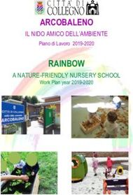 ARCOBALENO RAINBOW IL NIDO AMICO DELL'AMBIENTE A NATURE-FRIENDLY ...
