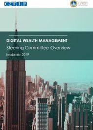 Steering Committee Overview - DIGITAL WEALTH MANAGEMENT