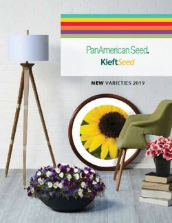 PanAmericanSeed - KieftSeed - New Varieties 2019