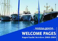 WELCOME PAGES - SuperYacht Services 2018-2019
