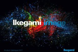 Ikegami image - Product Catalogue 2017