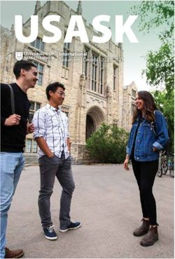 UNIVERSITY OF SASKATCHEWAN - International 2020-2021, Canada