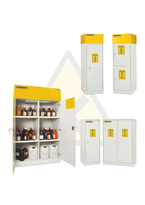 armadi di sicurezza per prodotti chimici